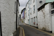 Colourful houses in Calstock