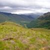 Glen Elchaig from a top of Beinn a' Mheadhoin