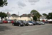Northlew: village square