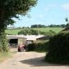 Spreyton: entrance to Begbeer Farm