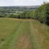 Spreyton: footpath to Combe