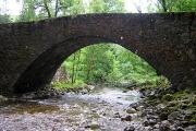 Bridge over Abhainn Chia-aig