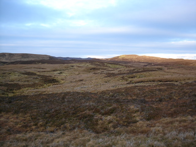 Winter moorland on Skye