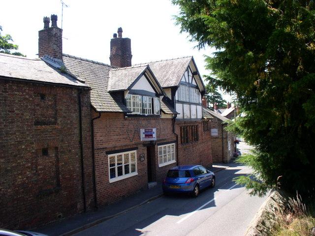 Old buildings, Northop.