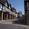 Tudor style buildings on Knifesmithgate