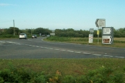 Road Junction whereB4271 meets A4118