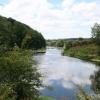 The River Wye  at Leabrink near Fownhope