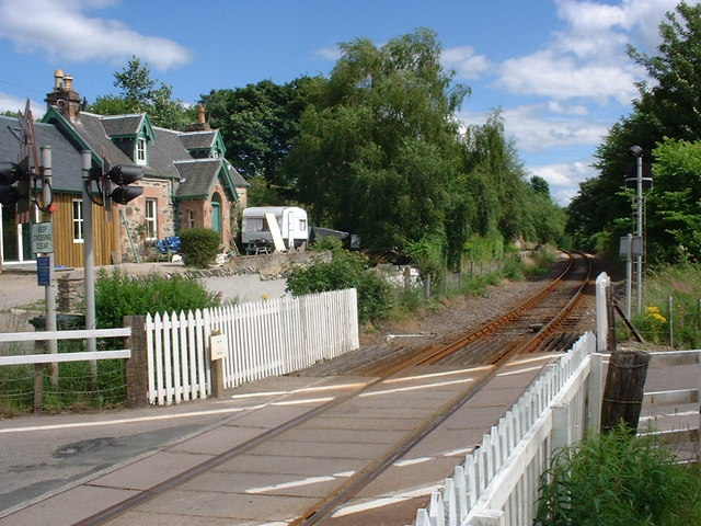 Achterneed level crossing