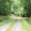 South Tawton: access track to Powlesand