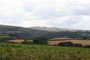 South Tawton: towards Belstone Cleave