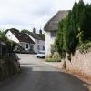 Sampford Courtenay: the village
