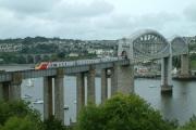 Tamar, A  Train Crossing The Royal Albert Bridge