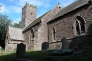 Church at Llanddewi Skirrid