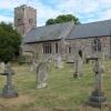 Church at Llanvetherine Llanwytherin