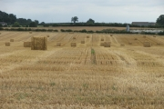 Farmland near Harewood.