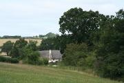 Sandford: nearing Lillybrooke Cottage