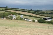 Woolfardisworthy: towards Moor Farm