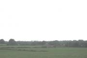 Farmland west of the A487