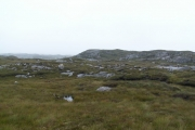 Moorland covering the Lewisian Gneiss