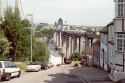 Saltash, The Royal Albert Bridge.