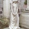 An angel in Allanvale cemetery