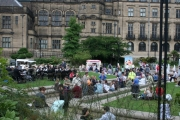 Summer fun in the Peace Gardens
