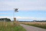 Balaldie Farm sign on the B9165.