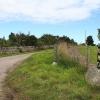 The lane to Proncycroy Farm.