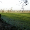 View from Harby churchyard across the Vale