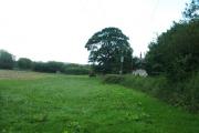 Farmland at Bryn Estyn Farm