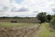Farmland from Robbery Bottom Road