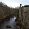 Aysgarth, looking east from the river bridge