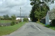 Llangybi village