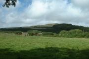 Farmland looking towards Garn Bentyrch