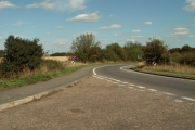 Slip road to join the A.12 at Hatfield Peverel, Essex