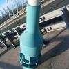 Stanchion on Flintshire Bridge