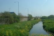 River Tame and M6 Motorway near Bescot
