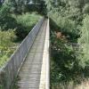 Footbridge over railway near Morton