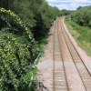 Railway track north of Morton