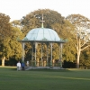 The Victorian bandstand in The Duthie Park