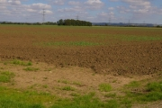 Looking Towards Mount Pleasant and the Wolds