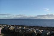 Solway Firth beach near Newbie