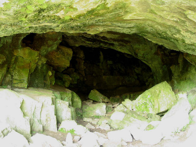 Cave at Gop Hill
