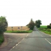 View looking west, from New Road, Campsall.