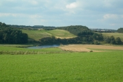 Farmland in the Clyde Valley