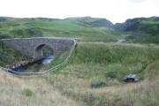 Old bridge over Armadale Burn