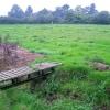 Footbridge, footpath and stile