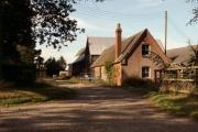 Le Mote Farm, just east of Pebmarsh, Essex