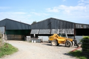 Rose Ash: barns near Densdon Gate