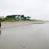 Wet and Windy Beach at Rosslare